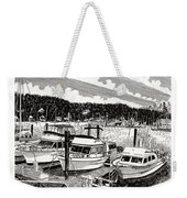 Gig Harbor Yacht Moorage Weekender Tote Bag