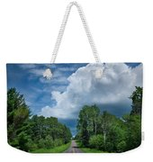 Northwoods Road Trip Weekender Tote Bag