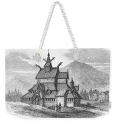 Norway: Borgund Church Weekender Tote Bag