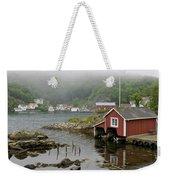 Norway, Fishing Village Weekender Tote Bag