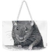 Norway Rat Weekender Tote Bag