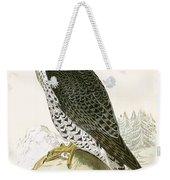 Norwegian Jer Falcon Weekender Tote Bag