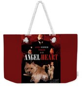 Norwich Terrier Art Canvas Print - Angel Heart Movie Poster Weekender Tote Bag