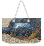 Nose In The Sand Weekender Tote Bag