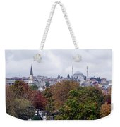 Nostalgia Of The Autumn In Istanbul Weekender Tote Bag
