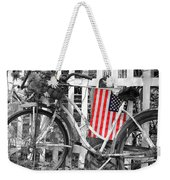 Nostalgic Collection-b And W Weekender Tote Bag