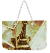 Nostalgic Mementos Of A Paris Trip Weekender Tote Bag