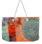 Not Another Sunflower Weekender Tote Bag by Myrna Migala