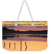 Not Conformed Weekender Tote Bag