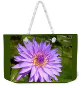 Purple Smiles Weekender Tote Bag