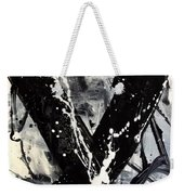 Not Just Black And White Weekender Tote Bag