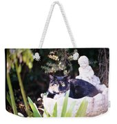 Not Just For The Birds Weekender Tote Bag by Cynthia Marcopulos