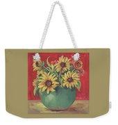 Not Just Sunflowers Weekender Tote Bag