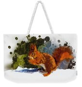 Not Much Goes On In The Mind Of A Squirrel Weekender Tote Bag