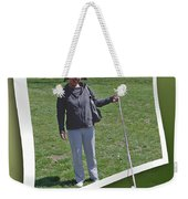 Not While You Watch Weekender Tote Bag by Brian Wallace