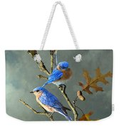 Nothing But Bluebirds Weekender Tote Bag