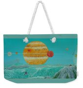 Nothing But Teal Skies Do I See Weekender Tote Bag