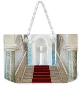 Noto, Sicily, Italy - Luxury Entrance Of Nicolaci Palace Weekender Tote Bag