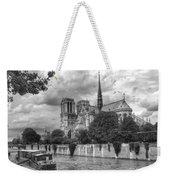 Notre Dame And Seine Weekender Tote Bag