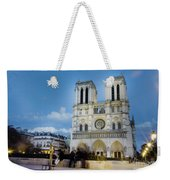 Notre Dame Cathedral Paris 3 Weekender Tote Bag