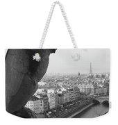 Notre Dame Gargoyle Weekender Tote Bag