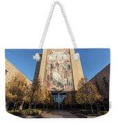 Notre Dame Library 2 Weekender Tote Bag