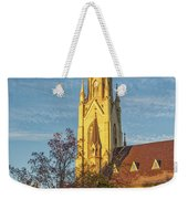 Notre Dame University Basilica Of The Sacred Heart Weekender Tote Bag