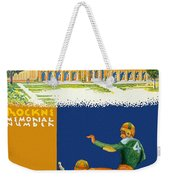 Notre Dame Versus Minnesota 1938 Program Weekender Tote Bag