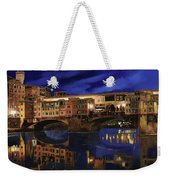 Notturno Fiorentino Weekender Tote Bag by Guido Borelli