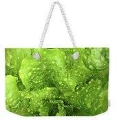 Nourish In Green Weekender Tote Bag