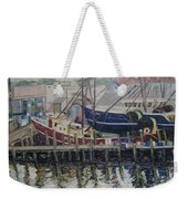 Nova Scotia Boats At Rest Weekender Tote Bag
