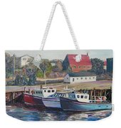 Nova Scotia Boats Weekender Tote Bag