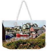 Nova Scotia Fishing Community Weekender Tote Bag