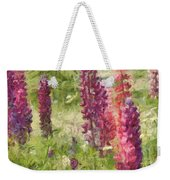 Nova Scotia Lupine Flowers Weekender Tote Bag
