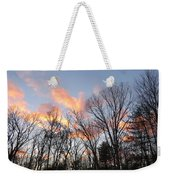 November At Twilight Weekender Tote Bag