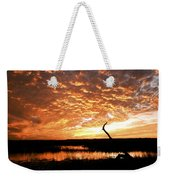 November Evening Weekender Tote Bag