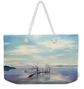 November On A Bavarian Lake Weekender Tote Bag