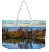 November Reflections Weekender Tote Bag
