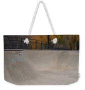 November Skatescape #4 Weekender Tote Bag