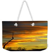 November Sunset Weekender Tote Bag