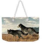 November Wolves Weekender Tote Bag