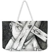 Now I'm Free To Have Any Point Of View Weekender Tote Bag