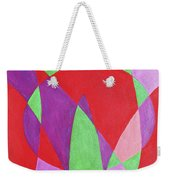 Now In Abstract Text Art Weekender Tote Bag