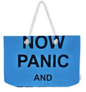 Now Panic 21 Weekender Tote Bag