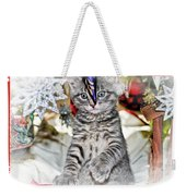 Now Where Did That Ornament Go I Just Saw It A Second Ago Weekender Tote Bag