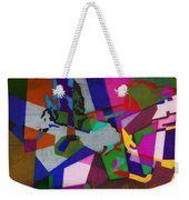 Nu Wall Graffiti Horns In The Landscape Of Sound/tony Adamo Weekender Tote Bag