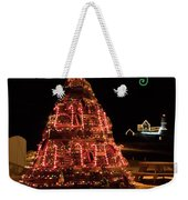 Nubble Light - Happy Holidays Weekender Tote Bag