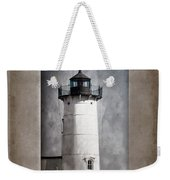Nubble Light Maine Weekender Tote Bag by Carol Leigh