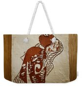 Nude 9 - Tile Weekender Tote Bag