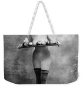 Nude And Apples, C1880 Weekender Tote Bag